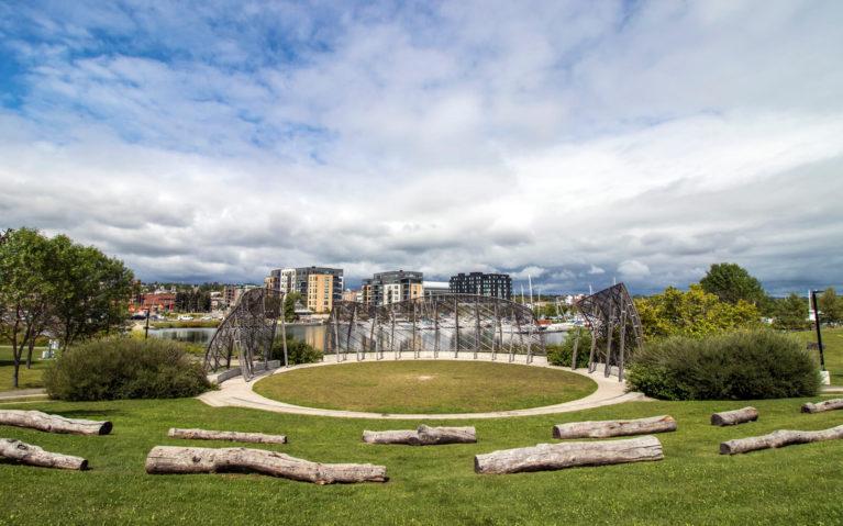 Views of Prince Arthur's Landing Along Thunder Bay Waterfront