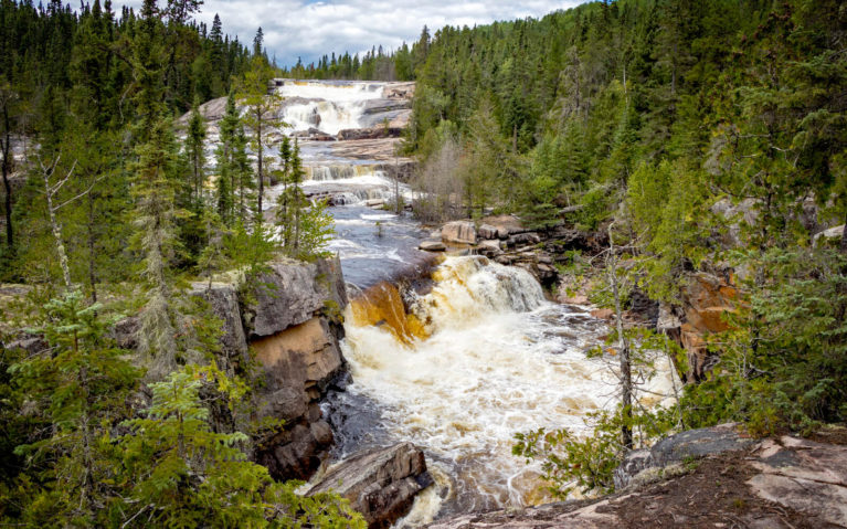 Dog Falls in Thunder Bay :: I've Been Bit! Travel Blog