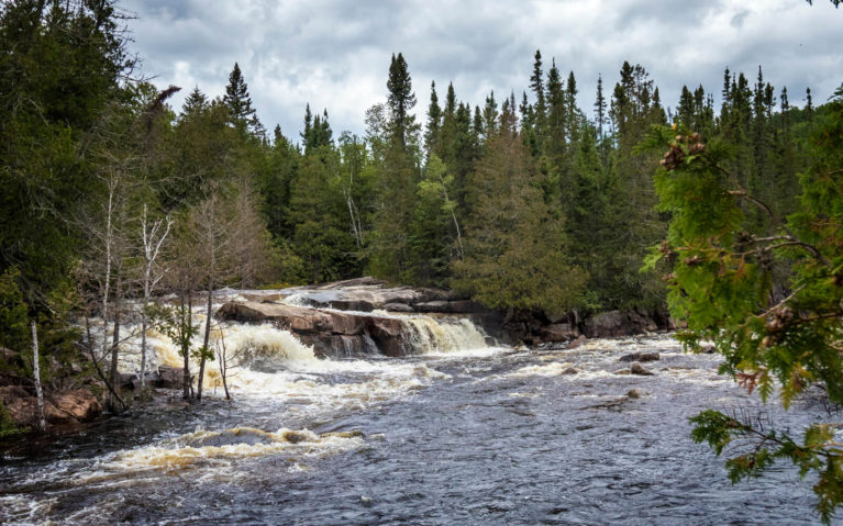 Silver Falls Near Thunder Bay :: I've Been Bit! Travel Blog