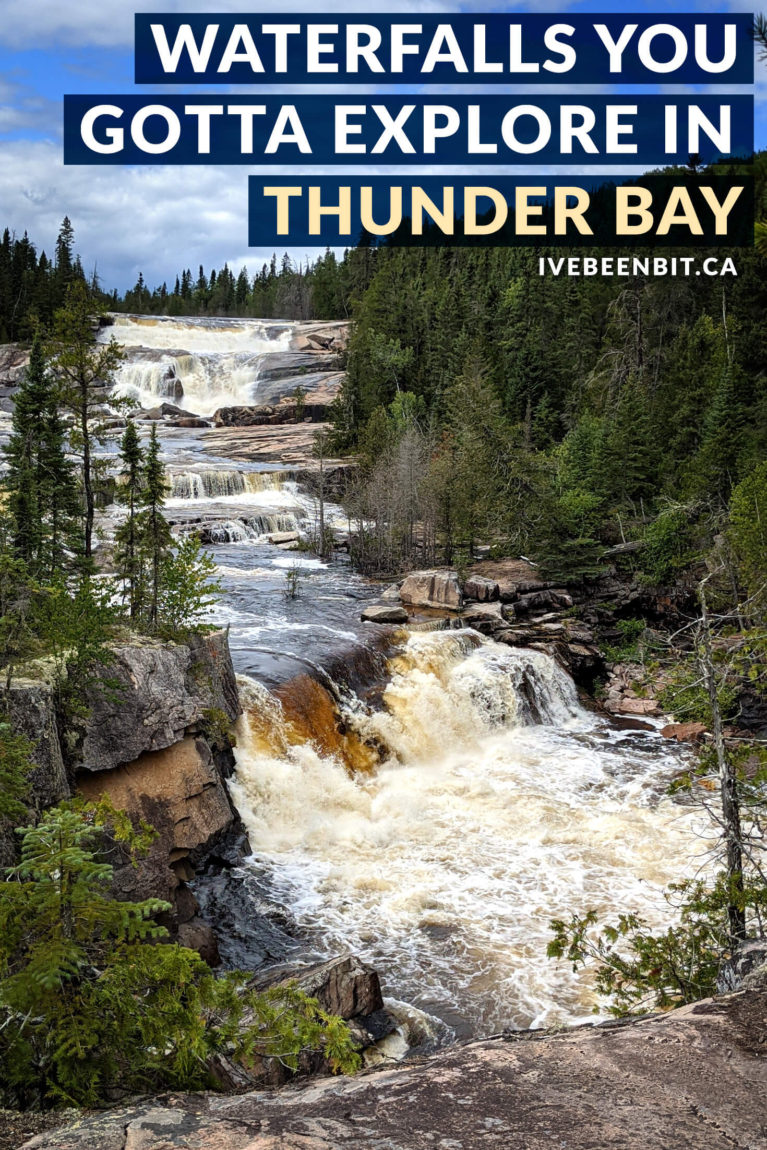 "There are so many amazing things to do in Thunder Bay Ontario, including hiking to some gorgeous waterfalls! These Thunder Bay waterfalls will have you planning a Northern Ontario road trip ASAP. Includes Kakabeka Falls, the ""Niagara of the North"", and many more! 