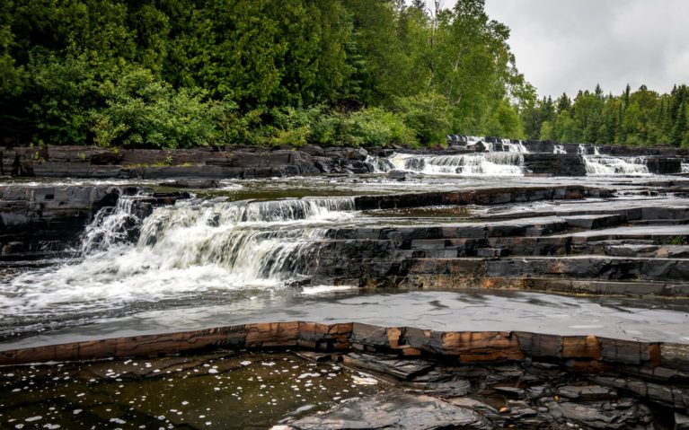 Trowbridge Falls in Thunder Bay :: I've Been Bit! Travel Blog