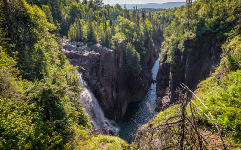 Aguasabon Falls and Gorge in Terrace Bay :: I've Been Bit! Travel Blog
