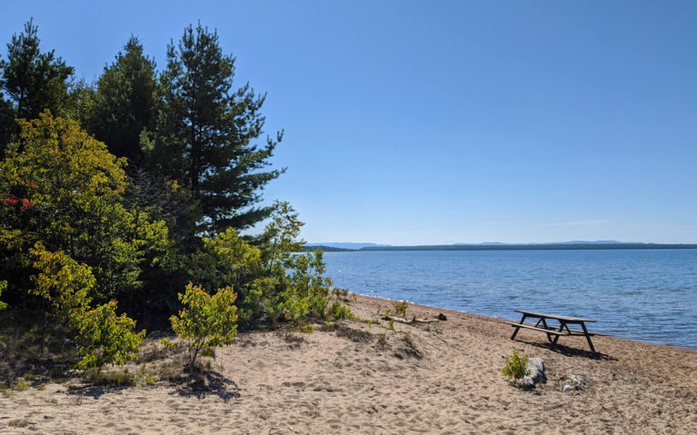Views of Lake Superior from Batchewana Bay Provincial Park :: I've Been Bit! Travel Blog