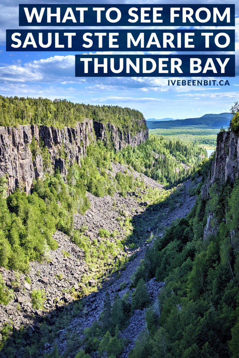 Planning an Ontario road trip? Heading to Northern Ontario? Wondering where to stop? Inside you'll find all the amazing details on where to when travelling from Sault Ste Marie to Thunder Bay! | Trans Canada Highway Ontario | Trans Canada Highway Road Trips | Northern Ontario Road Trip | Northern Ontario Travel | Sault Ste Marie Ontario | Thunder Bay Canada | Provincial Park Ontario | Ontario Provincial Parks | #RoadTrip #Ontario #Canada | IveBeenBit.ca