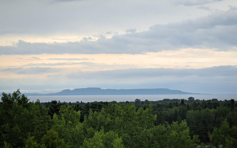Views of the Sleeping Giant from Thunder Bay :: I've Been Bit! Travel Blog