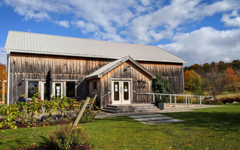 Roost Winery in the Fall :: I've Been Bit! Travel Blog