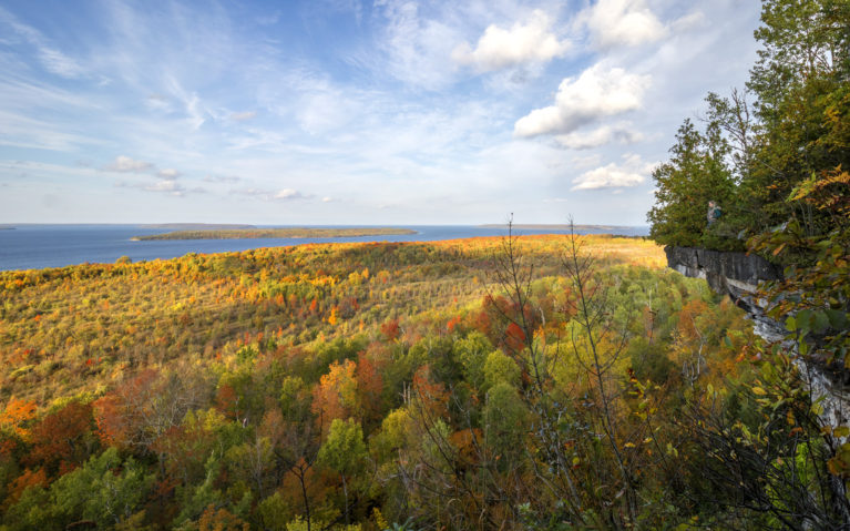 Views of Skinners Bluff in the Fall :: I've Been Bit! Travel Blog