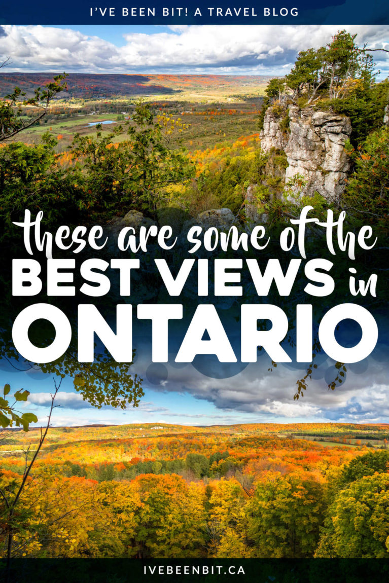 Are you hunting for seriously epic Ontario lookouts? Look no further than these incredible South Georgian Bay views! With 10+ ideas for amazing sights all year round, you can't miss these amazing Ontario views! I Collingwood Ontario | Blue Mountain Ontario | Things to Do in Ontario Canada I Hiking in Ontario I Ontario Trails I Hiking Trails in Ontario I I Where to Hike in Ontario I Where to Go in Ontario I Fall Hikes in Ontario I Ontario Hikes I autumn hiking in Ontario I Where to Go in Ontario in Fall I #Hiking #Ontario #Canada