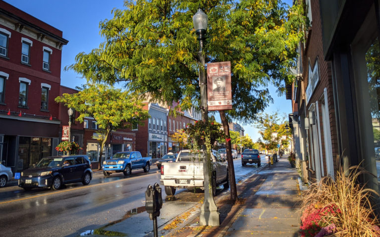 View of Bowmanville's Downtown Core :: I've Been Bit! Travel Blog