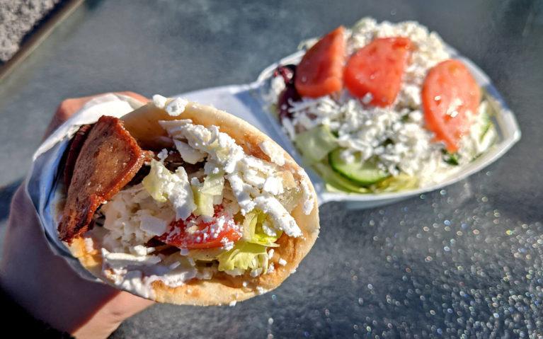 Opa'z Greek Gyro and Salad :: I've Been Bit! Travel Blog