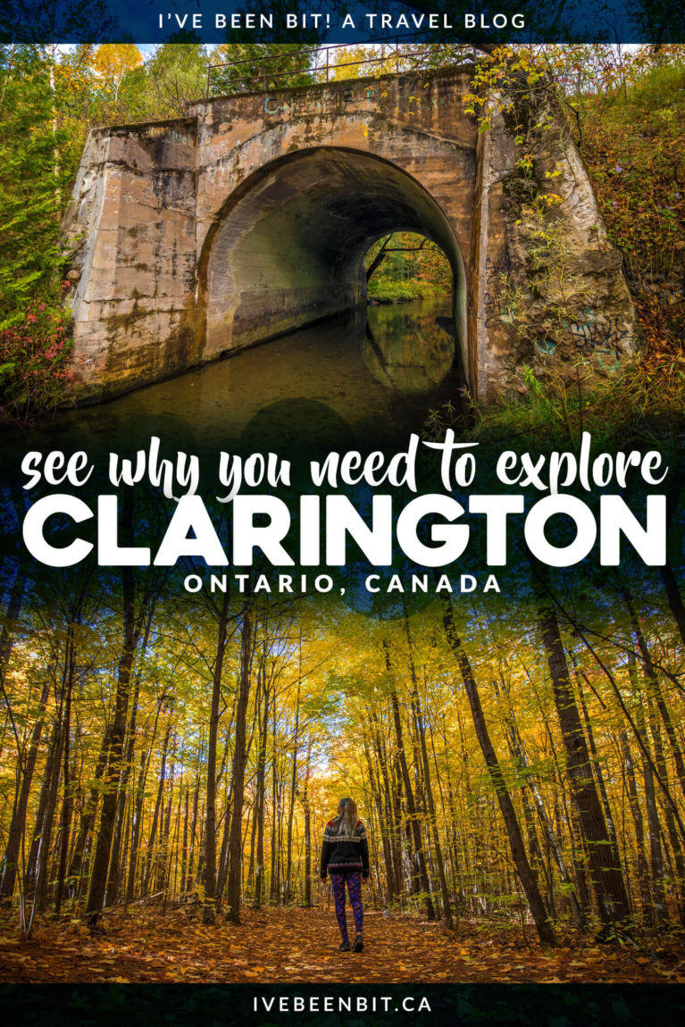 Looking to escape the big city of Toronto? Just an hour away you'll find the perfect Ontario getaway in Clarington Ontario! Inside you'll find all the amazing things to do in Clarington, where to stay, where to eat and more. I Things to Do in Ontario I Places to Go in Ontario I Small Towns in Ontario I Ontario Small Towns I Ontario Travel I Where to Go in Ontario I Places to Visit in Ontario I Places in Ontario I Ontario Guide I #Ontario #Canada #SmallTowns