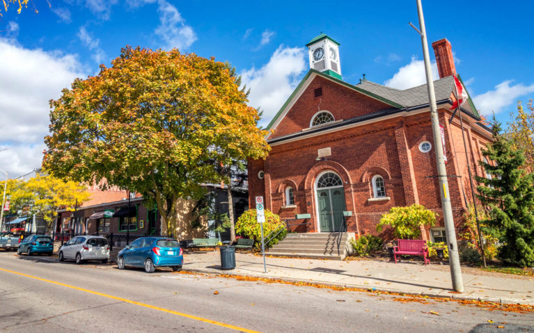 View of Main Street in the Town of Orono :: I've Been Bit! Travel Blog