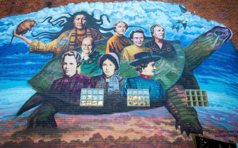 Bowmanville's Women of Distinction Mural :: I've Been Bit! Travel Blog