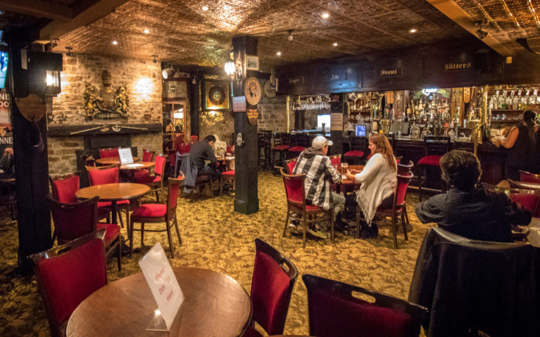 Inside the Main Floor at the Coach & Lantern Pub in Ancaster :: I've Been Bit! Travel Blog