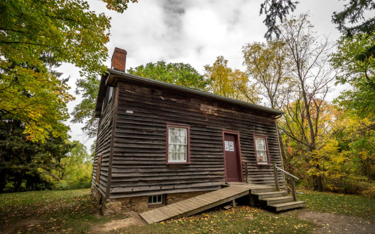 View of Griffin House in the Dundas Valley Conservation Area :: I've Been Bit! Travel Blog
