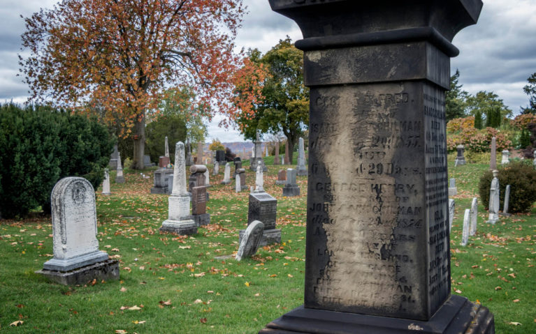 Some of the Tombstones in Hamilton Cemetery :: I've Been Bit! Travel Blog