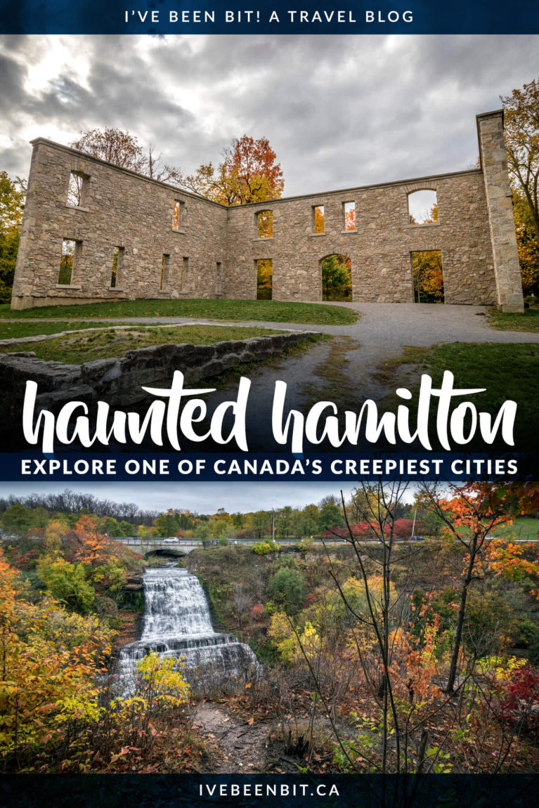 Are you looking an avid ghost hunter? Do you like exploring haunted places in Ontario? Hamilton is one seriously haunted city! You'll see just how haunted Hamilton is as you explore these haunted places in Hamilton. I Where to Find Ghosts in Ontario | Ontario Haunted Places I Haunted Houses in Ontario I Haunted Ontario | Most Haunted Places in Canada | Haunted Places in Canada | Hamilton Ontario Things to Do | #Ontario #Canada #Haunted