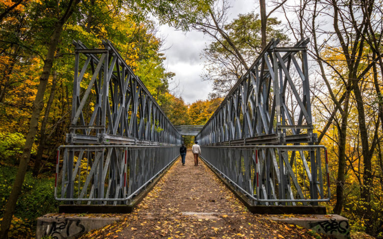 Bridge Along the Chedoke Radial Trail :: I've Been Bit! Travel Blog