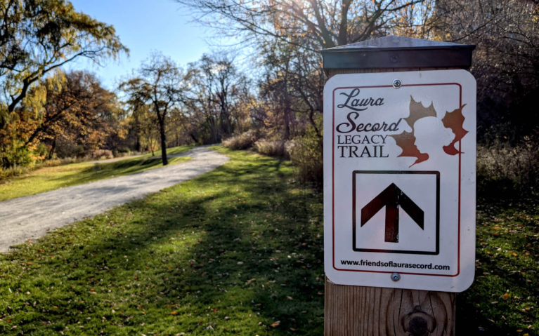 One of the Signs for the Laura Secord Legacy Trail :: I've Been Bit! Travel Blog