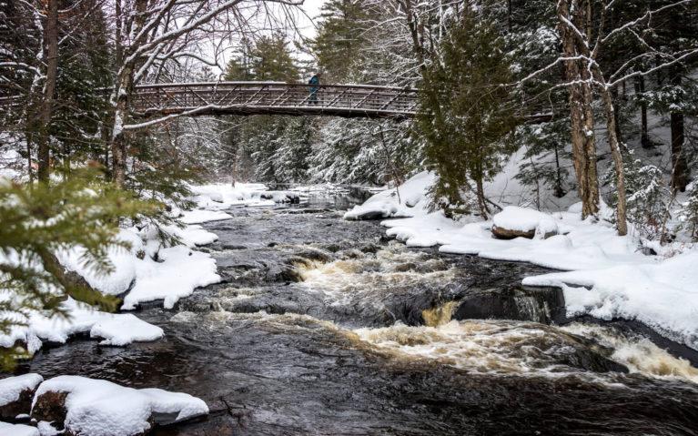 Bridge Over Stubb's Falls at Arrowhead Provincial Park :: I've Been Bit! Travel Blog