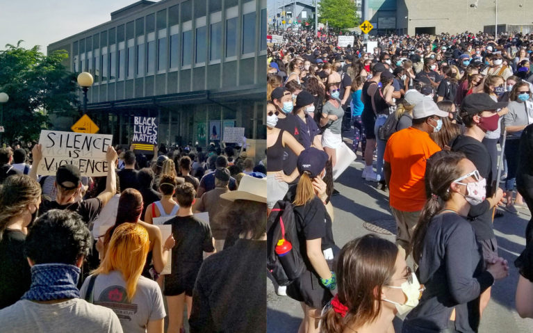 Photos From the Black Lives Matter Protest in Kitchener :: I've Been Bit! Travel Blog