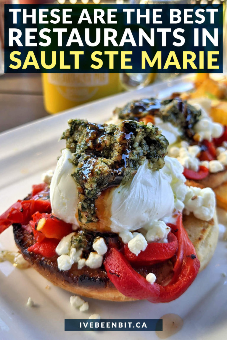 Wondering where to eat when in The Soo? These are the best restaurants in Sault Ste Marie you won't want to miss! | Restaurants Sault Ste Marie | Best Restaurants in Ontario | Ontario Restaurants | Where to Eat in Ontario | Restaurants to Eat at On an Ontario Road Trip | Best Eats in Sault Ste Marie | #Ontario #Travel #Restaurants | IveBeenBit.ca