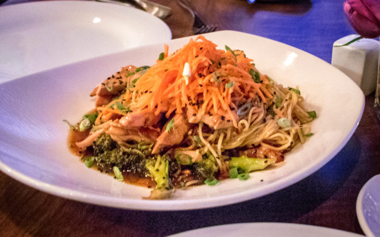 Korean Fire Noodles from The View in Sault Ste Marie :: I've Been Bit! Travel Blog