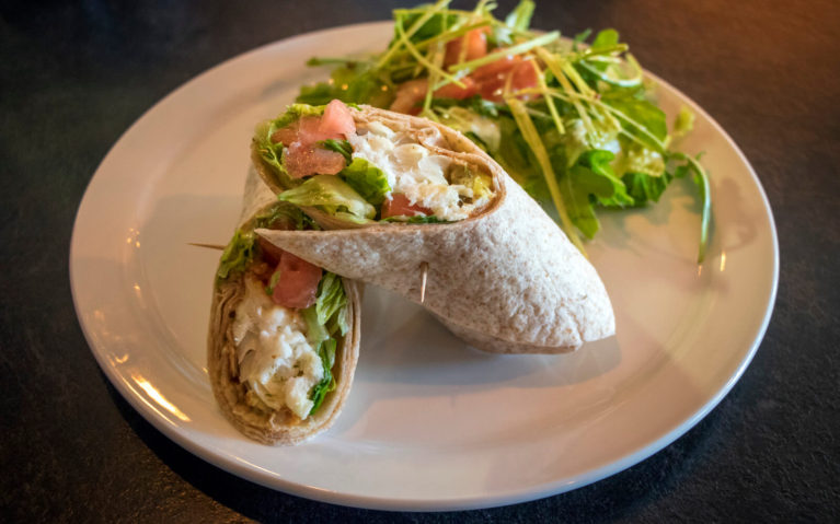 Beer Battered Fish Wrap from The Whiskey Barrel :: I've Been Bit! Travel Blog