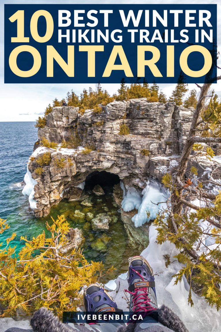 Ontario has incredible trails to tackle all year round, but these top Ontario winter hikes are next level once the snow falls! | Winter Hiking Ontario | Winter Hiking Trails Ontario | Ontario Winter Travel | Winter Hiking Near Toronto | Ontario Hiking | Hiking in Winter | Winter Hiking | Winter Hiking in Canada | #Winter #Hiking | IveBeenBit.ca