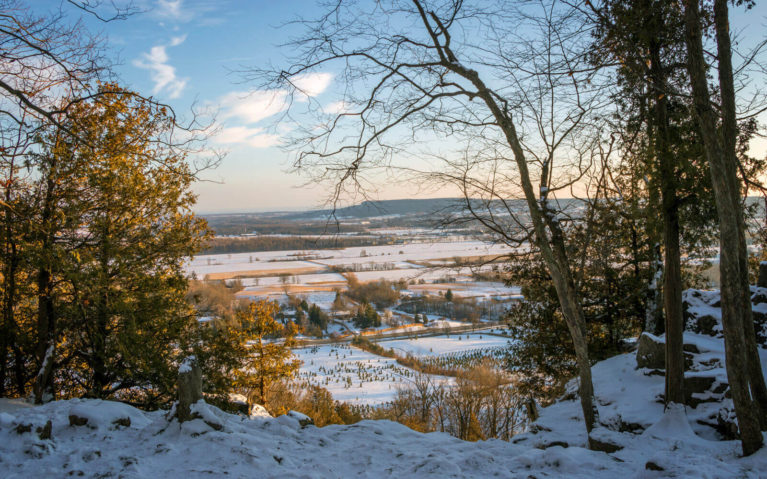 Views from One of the Lookouts at Rattlesnake Point in Milton :: I've Been Bit! Travel Blog