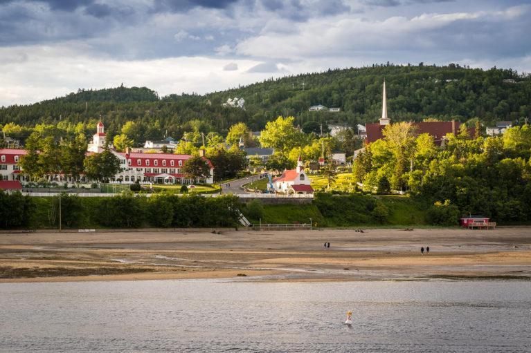 View of Tadoussac from the Bay - Photo Credit: Mathieu Dupuis/Le Québec maritime