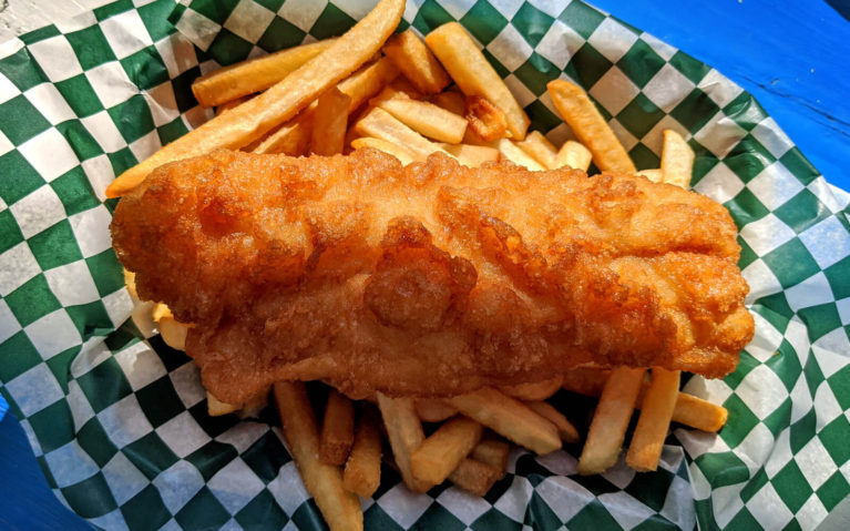 Fish and Chips from Shipwreck Lee's in Tobermory :: I've Been Bit! Travel Blog