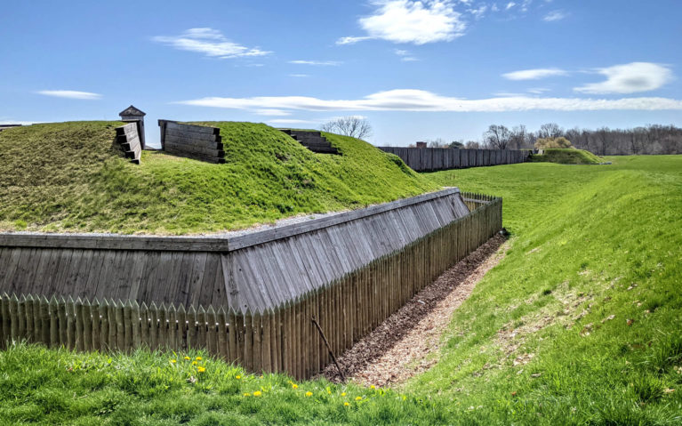 Part of the Fortifications of the Fort George National Historic Site :: I've Been Bit! Travel Blog