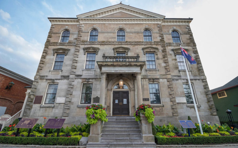 The Old Courthouse in Niagara-on-the-Lake