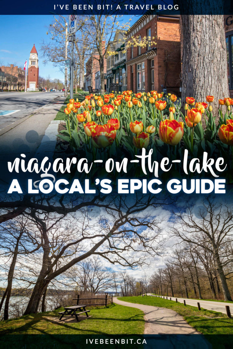 Planning a trip to this adorable wine town in Ontario? Check out this list of things to do in Niagara on the Lake! | Ontario Travel | Niagara on the Lake Things to Do | Niagara-on-the-Lake Things to See | Niagara on the Lake Restaurants | Niagara on the Lake Photography | Niagara on the Lake Wineries | Niagara on the Lake Bike Tour | Niagara Falls | Niagara Falls Canada | Niagara Travel | #Ontario #Niagara