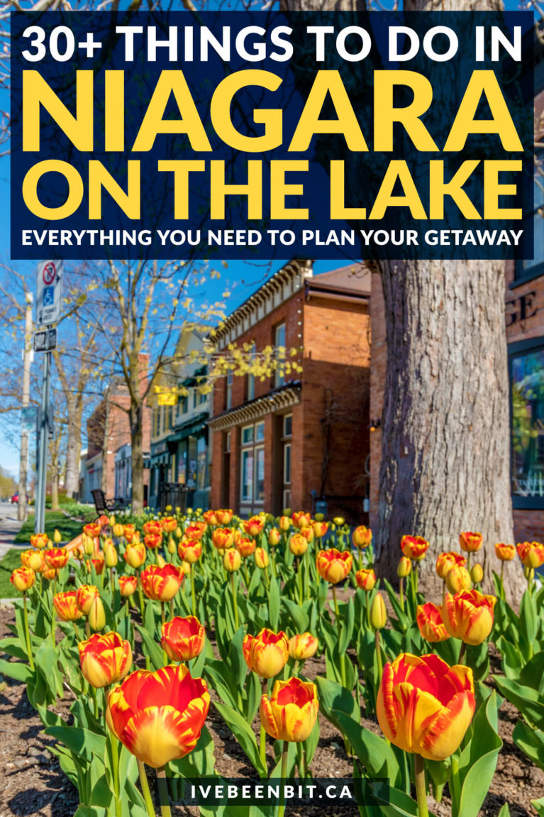 Planning a trip to this adorable wine town in Ontario? Check out this list of things to do in Niagara on the Lake! | Ontario Travel | Niagara on the Lake Things to Do | Niagara-on-the-Lake Things to See | Niagara on the Lake Restaurants | Niagara on the Lake Photography | Niagara on the Lake Wineries | Niagara on the Lake Bike Tour | Niagara Falls | Niagara Falls Canada | Niagara Travel | #Niagara #Ontario