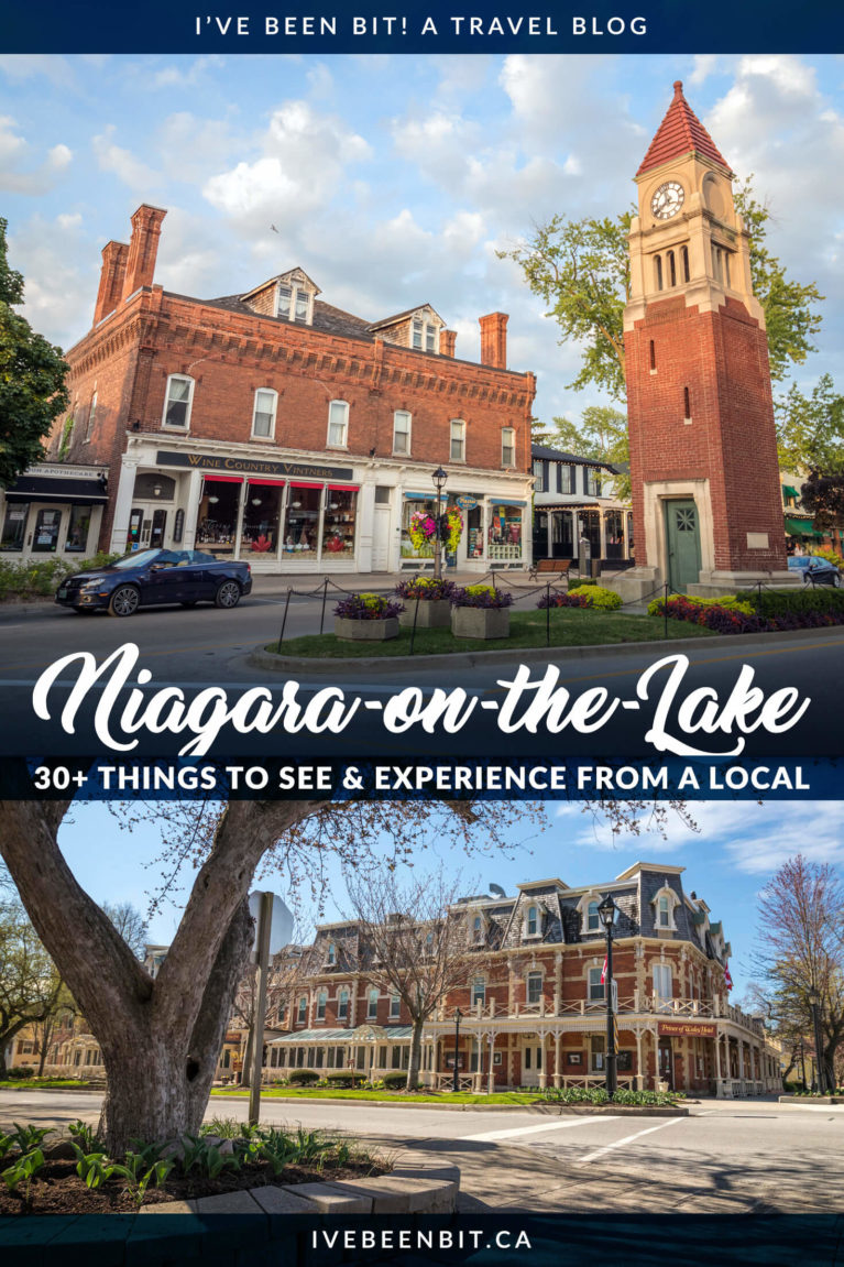 Planning a trip to this adorable wine town in Ontario? Check out this list of things to do in Niagara-on-the-Lake! | Ontario Travel | Niagara on the Lake Things to Do | Niagara-on-the-Lake Things to See | Niagara on the Lake Restaurants | Niagara on the Lake Photography | Niagara on the Lake Wineries | Niagara on the Lake Bike Tour | Niagara Falls | Niagara Falls Canada | Niagara Travel | #Niagara #Ontario