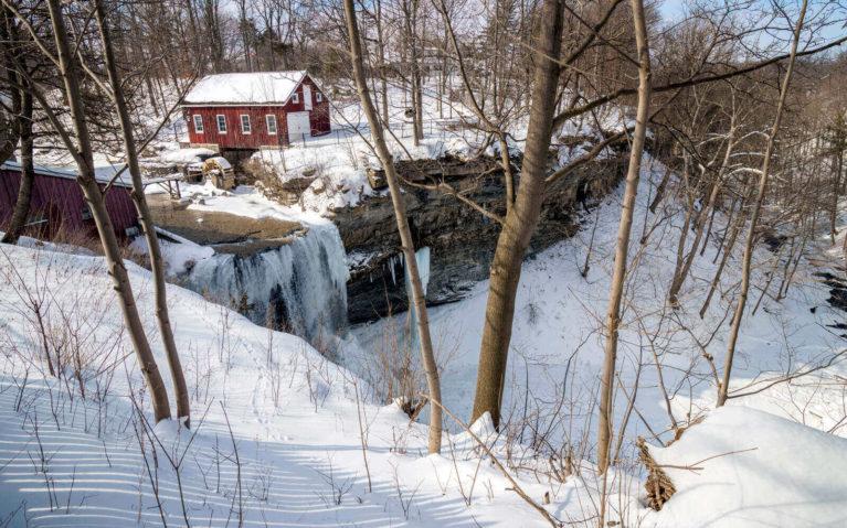 DeCew Falls and Morningstar Mill in Winter :: I've Been Bit! Travel Blog
