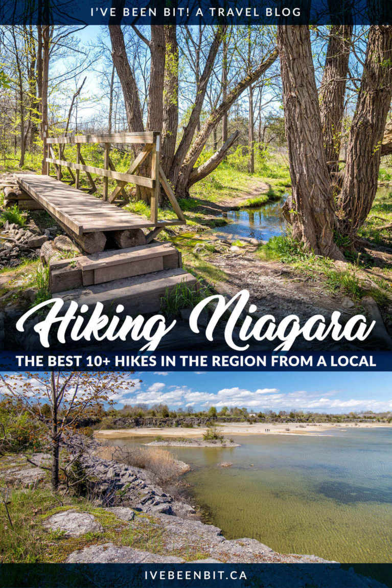 Looking for the best hiking trails in Niagara? You need to explore these Niagara hiking trails! Check out the best places to hike in Niagara! | Hiking Near Niagara Falls Canada | Hiking Trails Niagara | Niagara Falls hiking trails | Hiking in Niagara | Ontario Hiking | Hiking in Ontario | Niagara Escarpment Hikes | Bruce Trail | Walking Trails in Niagara | Niagara Region Hikes | St Catharines Hiking Trails | Southern Ontario Hikes | Hiking Trails in Ontario Canada | #Hiking #Summer #Ontario