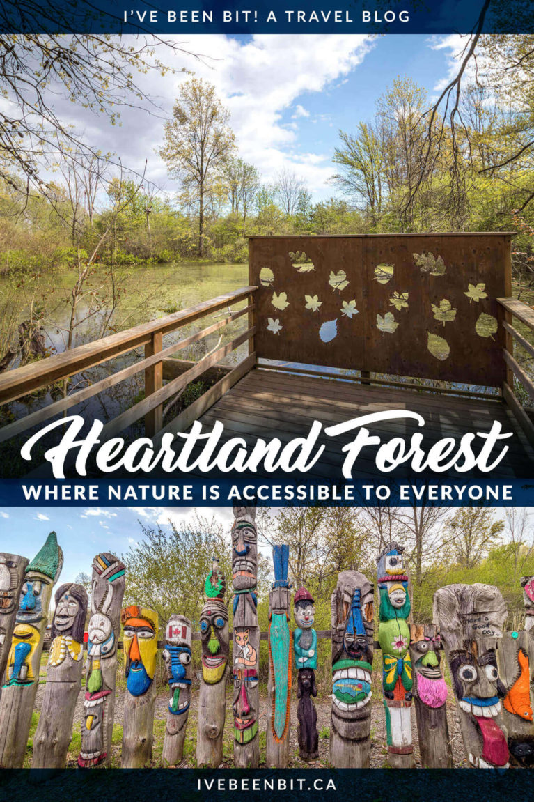 Looking for a truly unique experience in Niagara Falls Ontario? Plan a visit to the Heartland Forest for some quality nature time with a twist! | Things to Do in Niagara Falls Canada | Niagara Falls Ontario Things to Do | Things to Do in Niagara Falls Canada for Families | Niagara Falls Hikes | Hikes Near Niagara Falls | Places to See in Niagara Falls Canada | Family Day Trips Ontario | Southern Ontario Day Trips | Day Trips in Ontario | #Summer #Hiking #Ontario