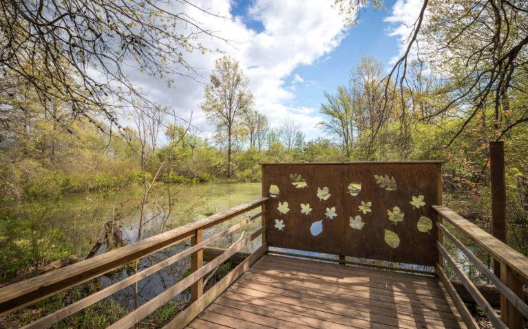 Wooden Lookout Over Marshland :: I've Been Bit! Travel Blog