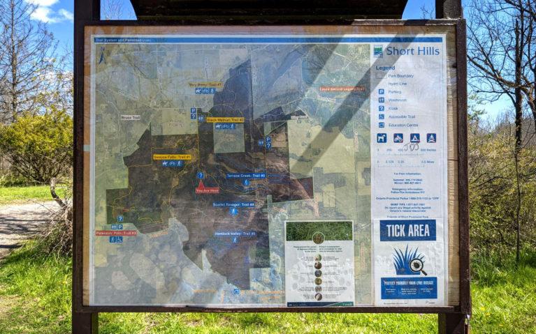 Short Hills Provincial Park Trail Map :: I've Been Bit! Travel Blog