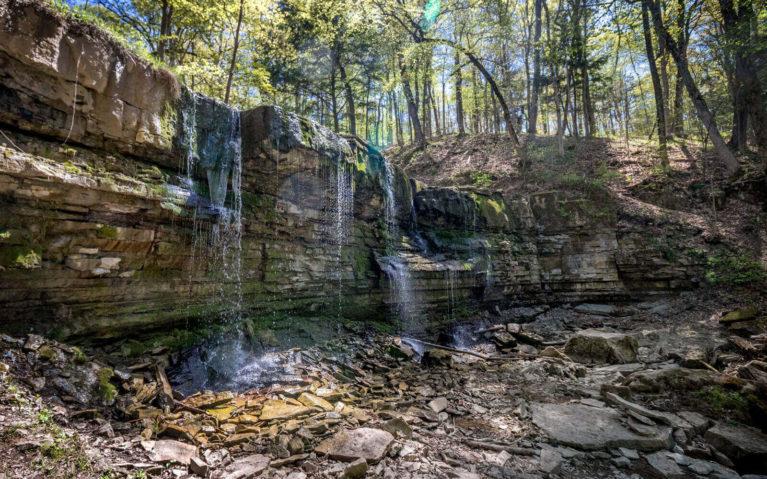 Terrace Creek Falls in the Summer :: I've Been Bit! Travel Blog