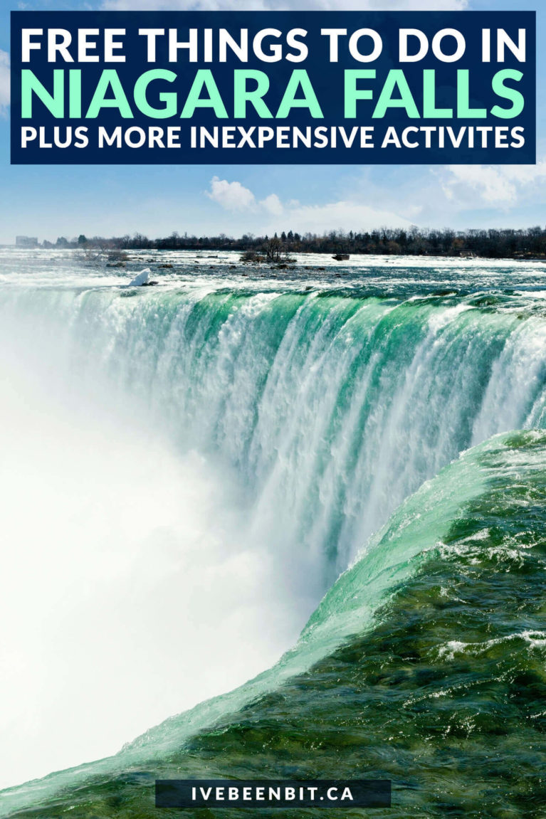 Planning to visit Niagara Falls & don't want to break the bank? Check out these top FREE things to do in Niagara Falls Canada! | Niagara Falls activities | What to Do in Niagara Falls Ontario | Things to do Near Niagara Falls | Things to Do in Niagara Falls with Kids | Niagara Falls Bucket List | Day Trips from Toronto | Ontario Road Trips | Niagara Falls Free | Things to See in Niagara Falls | Niagara Falls Tips | Niagara Region | #Summer #Ontario