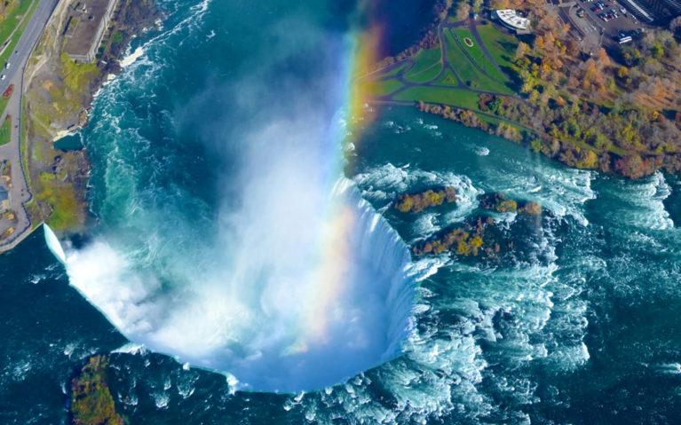 Niagara Falls From Above :: I've Been Bit! Travel Blog