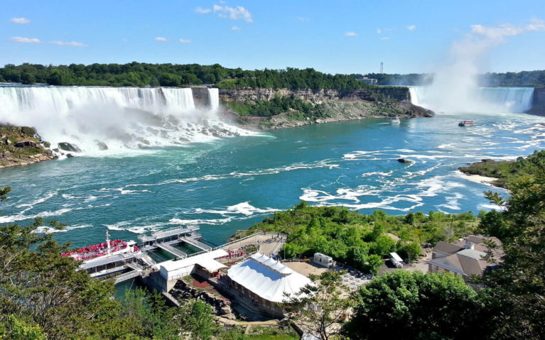 View of the American Falls and the Horseshoe Falls :: I've Been Bit! Travel Blog