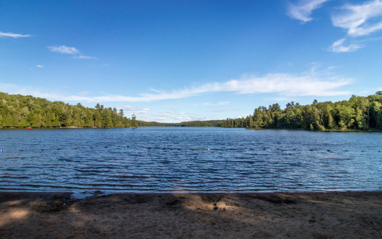 Views of Silent Lake From the Beach On a Sunny Evening :: I've Been Bit! Travel Blog
