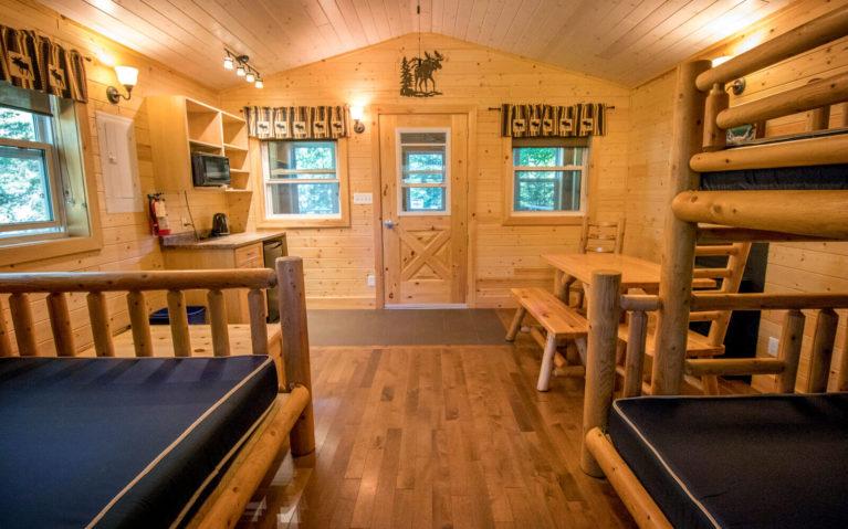 Inside the Silent Lake Provincial Park Cabins :: I've Been Bit! Travel Blog