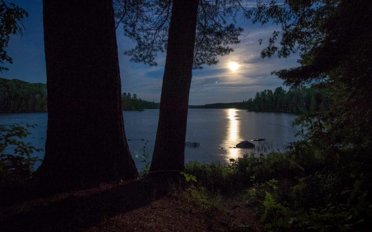 Full Moon Over Silent Lake :: I've Been Bit! Travel Blog