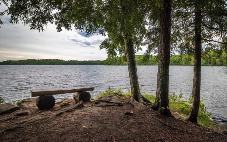 One of the Lookouts Around Silent Lake Provincial Park :: I've Been Bit! Travel Blog